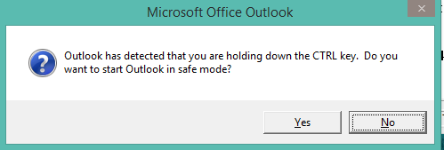 OutlookSafeMode